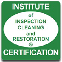 Institute of InspectionCleaning and Restoration Certification Seal