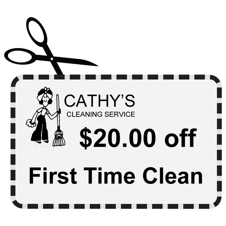 Coupon for Cathy's Cleaning Service